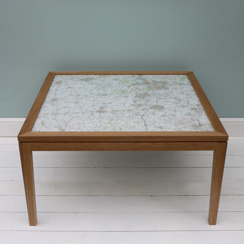 Personalised Map Table