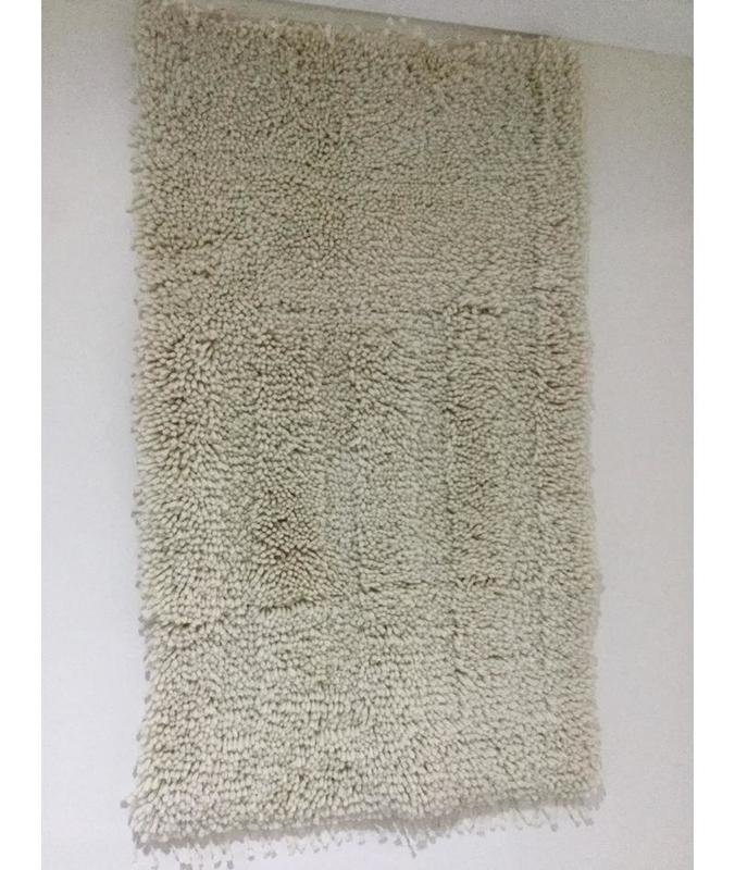 Rya Rug in 100% Wool with cotton backing (Art Deco inspired) 60 cm x 110 cm £95