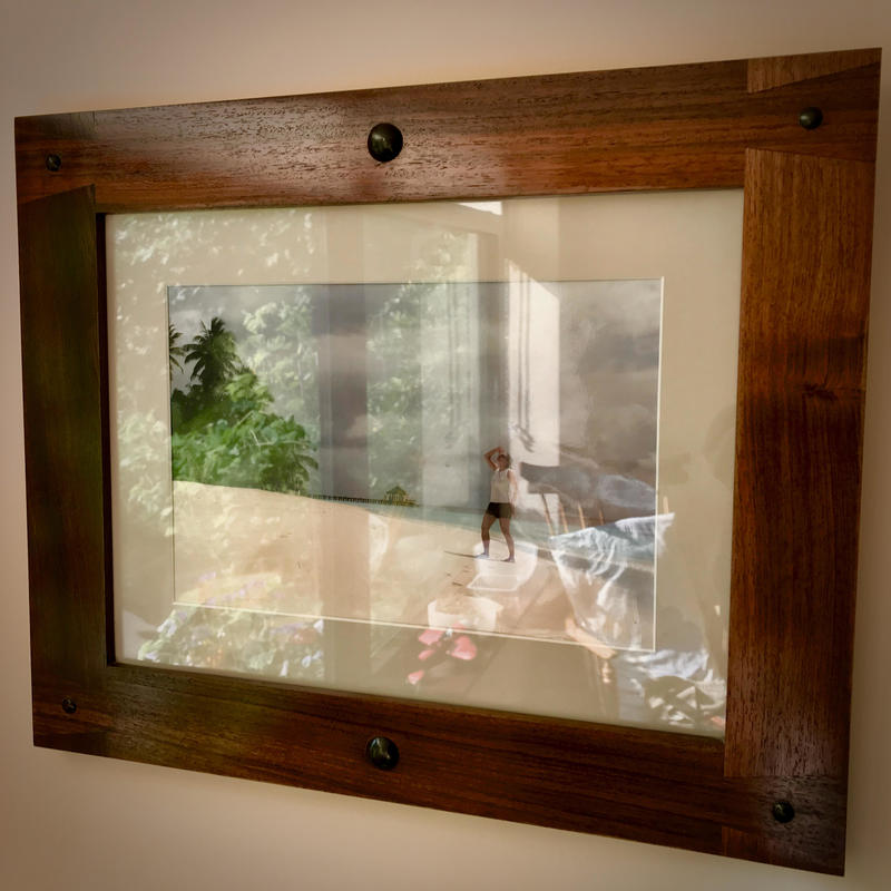 Rosewood and Ebony Frame 500 x 400mm