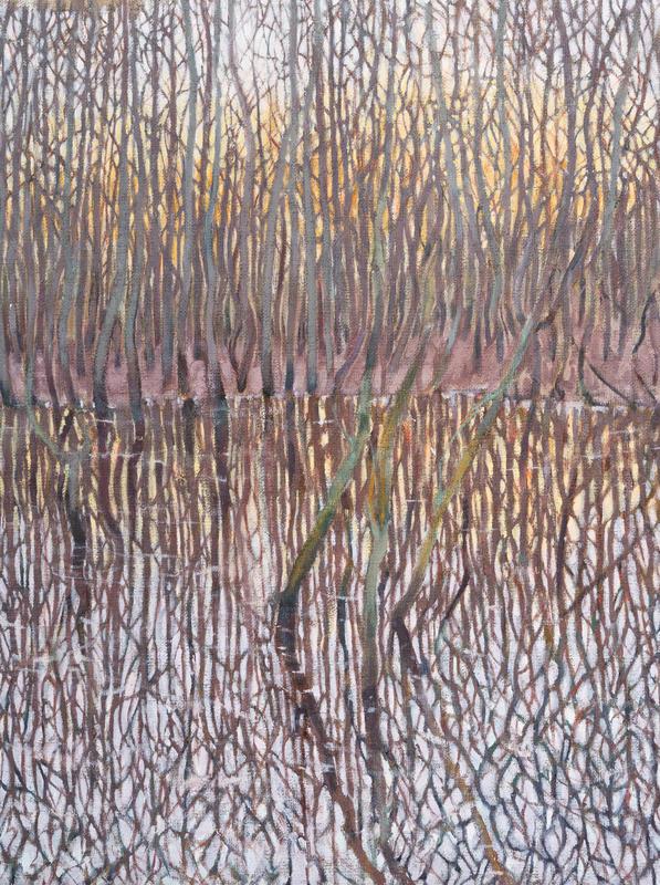Mirror World, Oil on Canvas Board, 40x30 cm £300