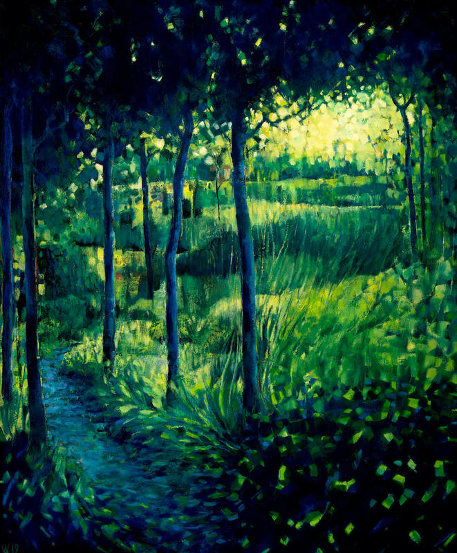 Wood Between the Worlds, Oil on Canvas, 800 x500cm £1100
