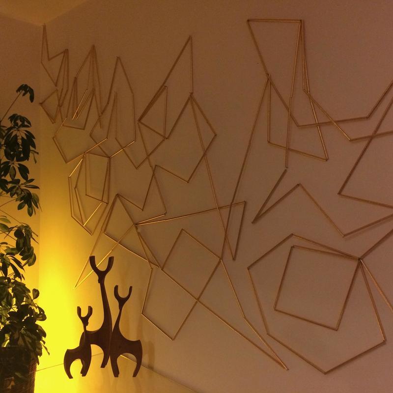 Christmas 16. Installation. 360x160cm