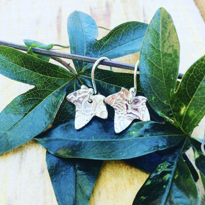 Silver Arbor Lace Ivy Earrings