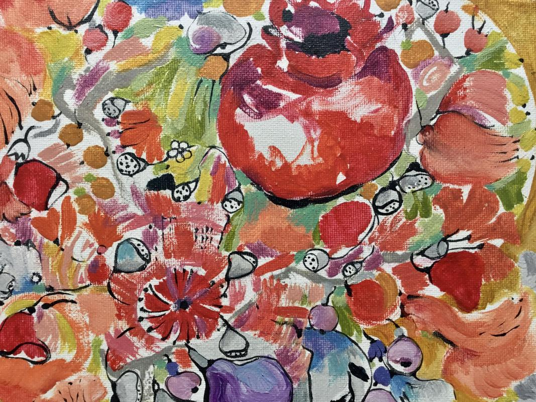 """""""Pommegranate"""" 