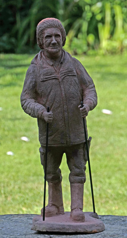 Clay model of Roy the walker