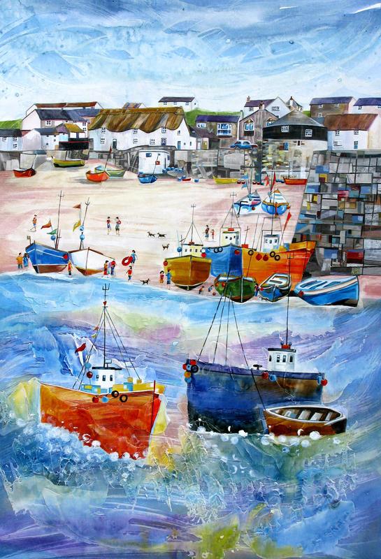 Sennen Cove, Cornwall Original. Size 62cm x 81cm. Price £750