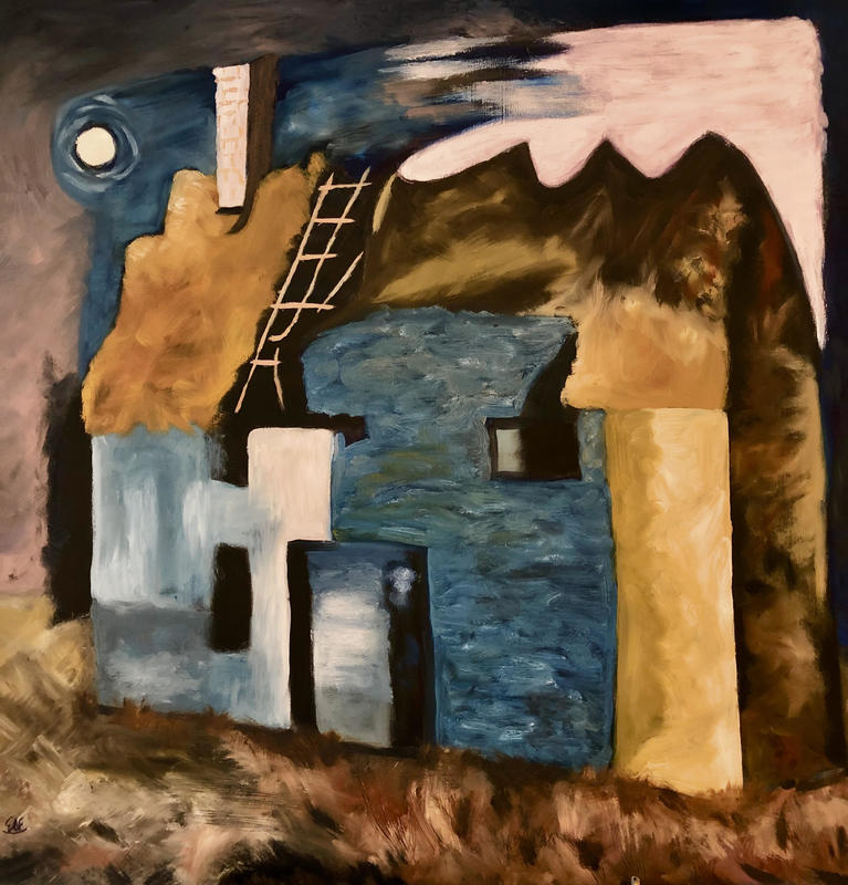 Ruined Cottage 1 after John Piper