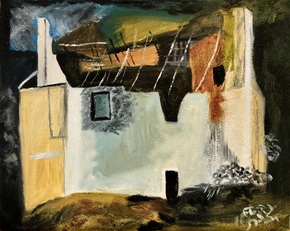 Ruined Cottage 2 after John Piper