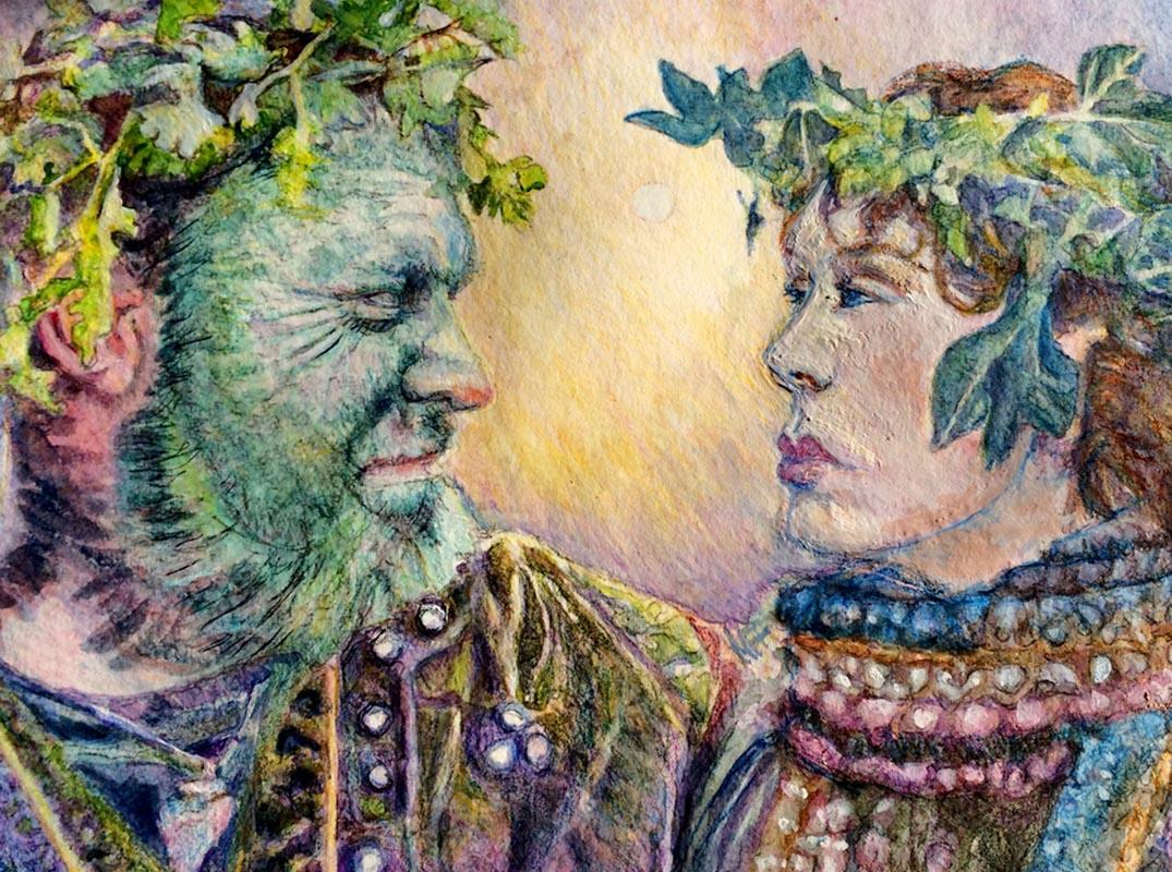 Jack in the Green and the goddess