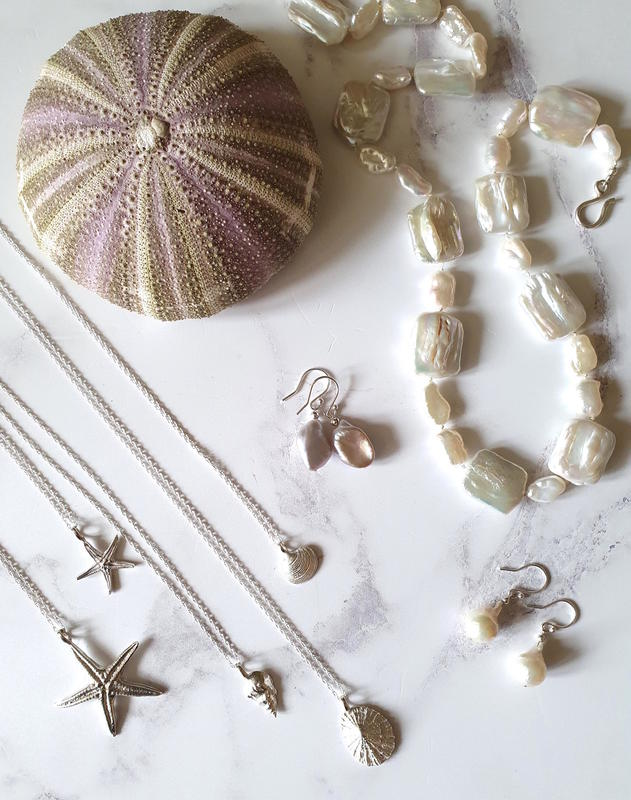 Silver and Pearl Jewellery by Charlie Davies