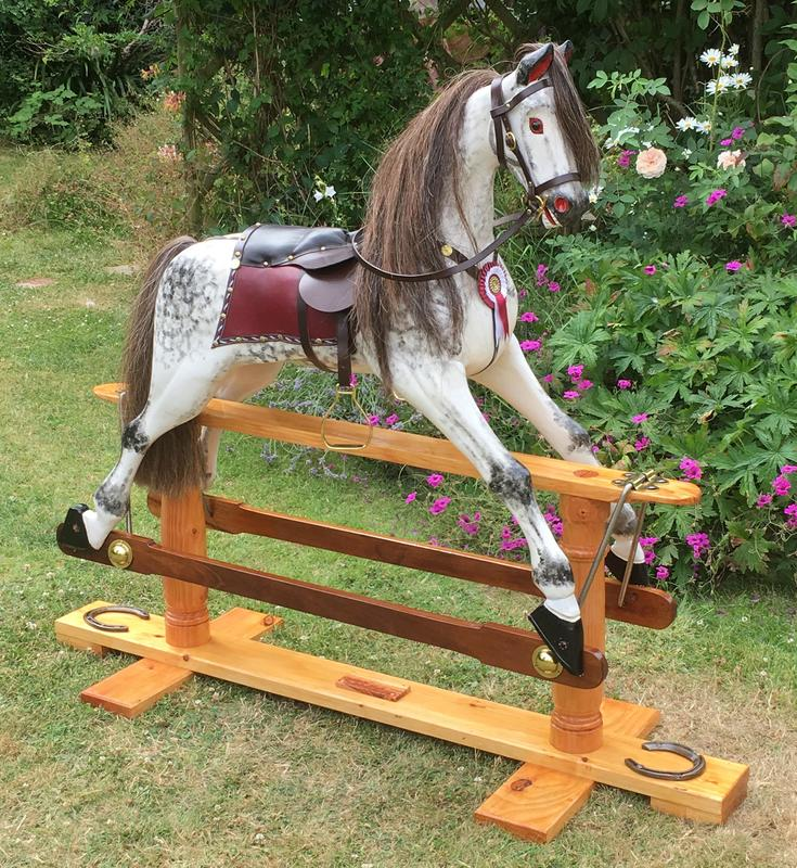 Large Rocking Horse by Mike Wrottesley