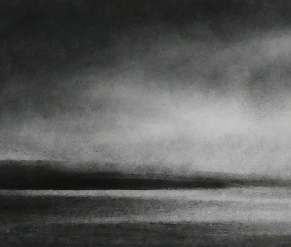 Stages of Light (charcoal on paper)