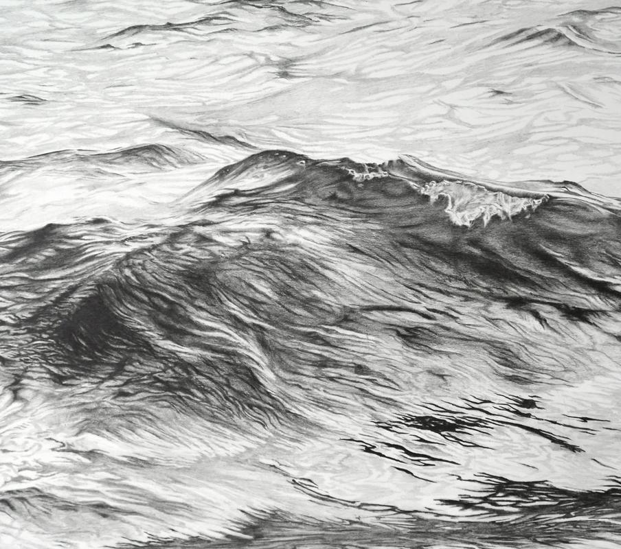 Wave 3 (pencil on paper)