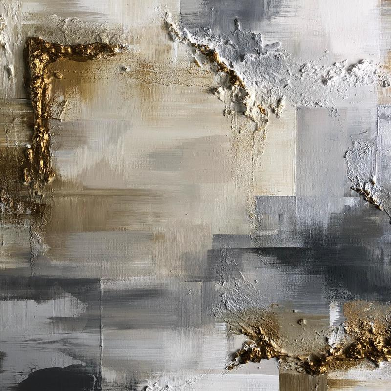 'Textured desert' large abstract detail