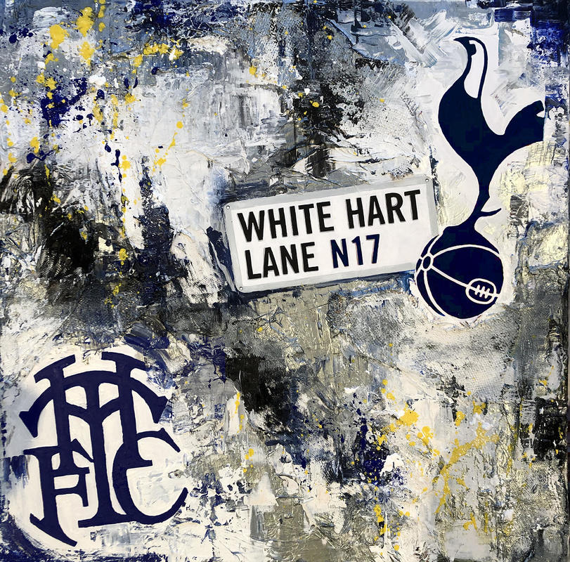 'COYS' 36x76cm deep edge canvas for those hardened footy fans