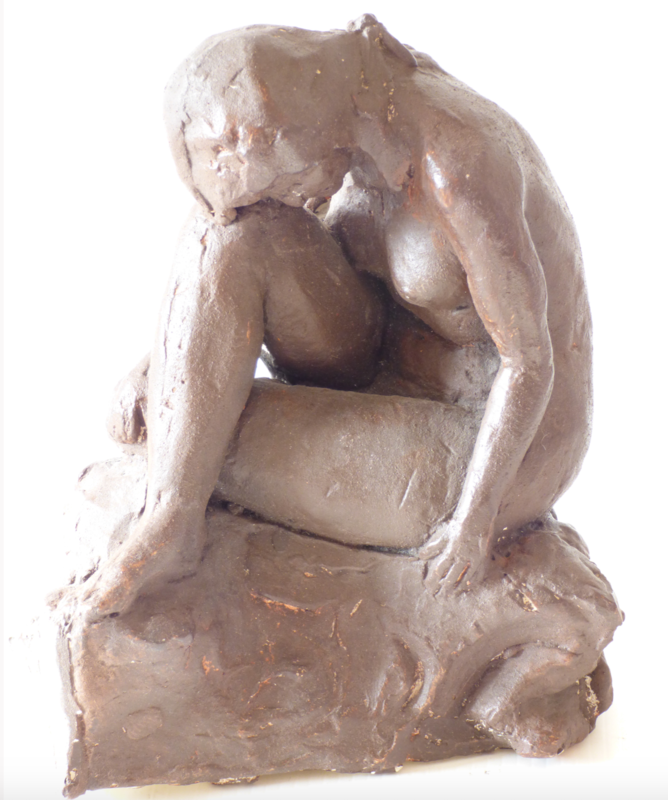 Maquette For Stone Carving