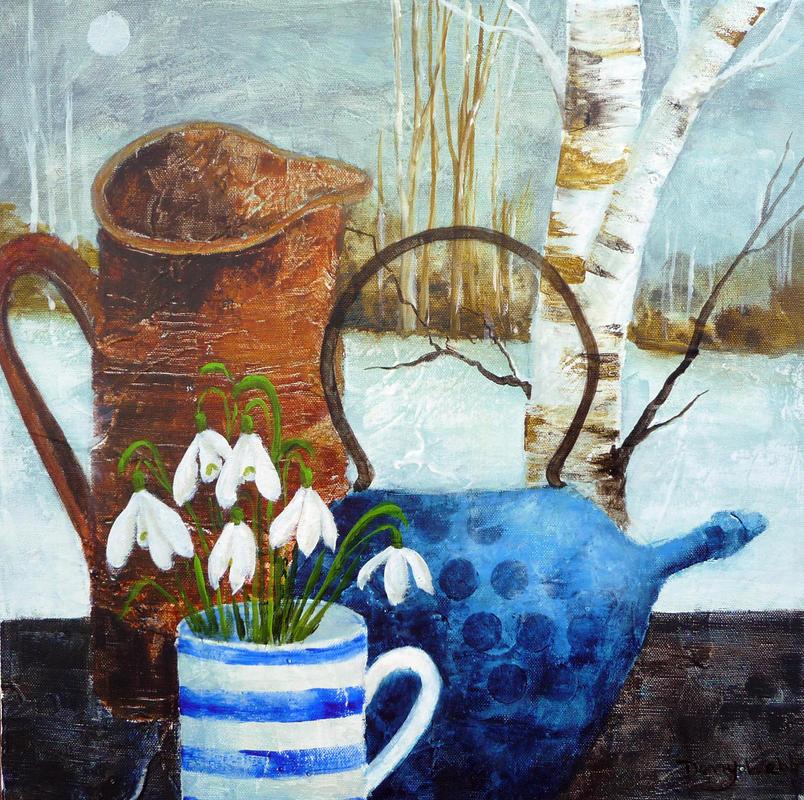 Tea and Snowdrops