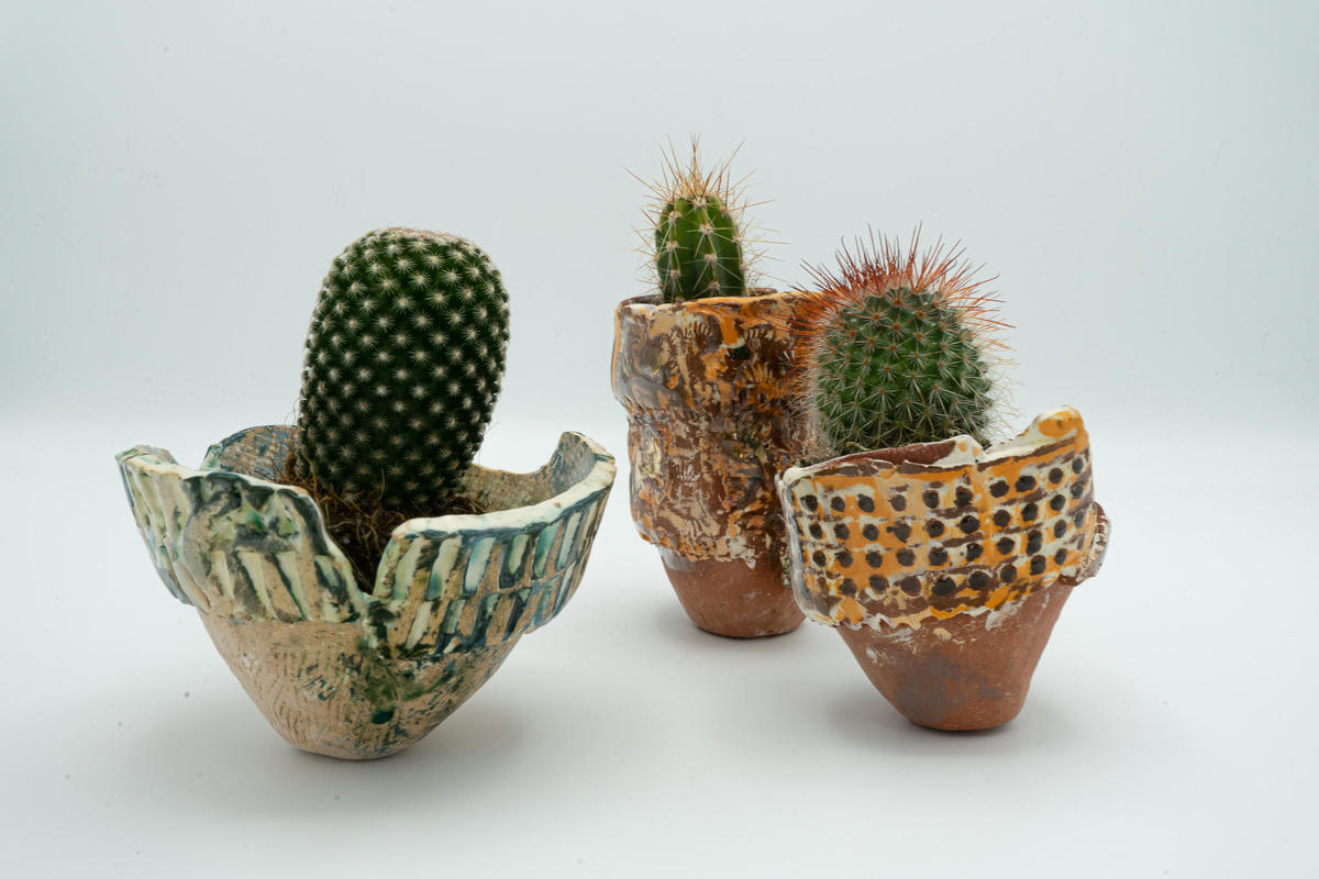Little pinch pots inspired by the Ashmolean