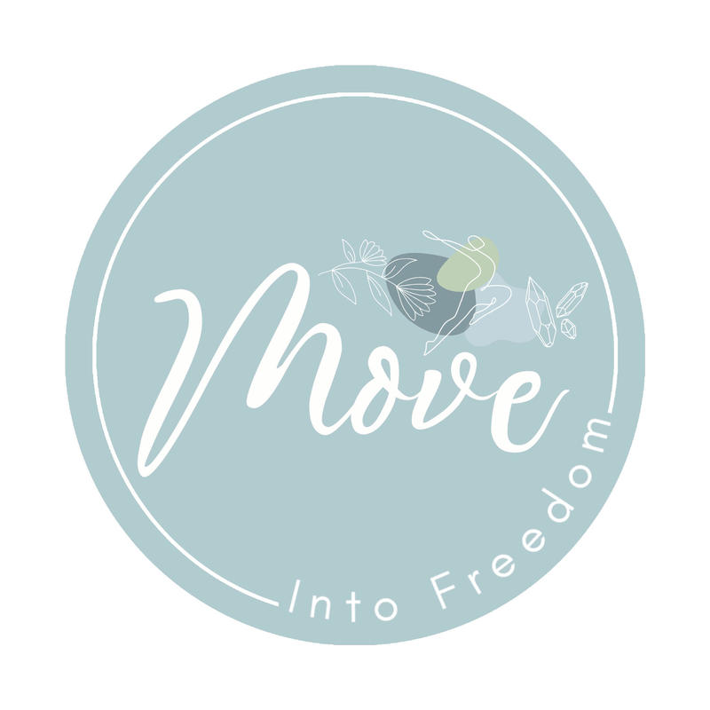 Move Into Freedom Logo for Dancing with Nature, Art and Performance Workshop