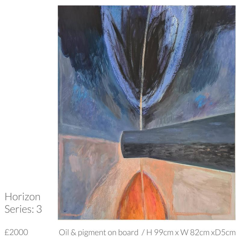 Horizon Series Oil Painting by Emma Souter