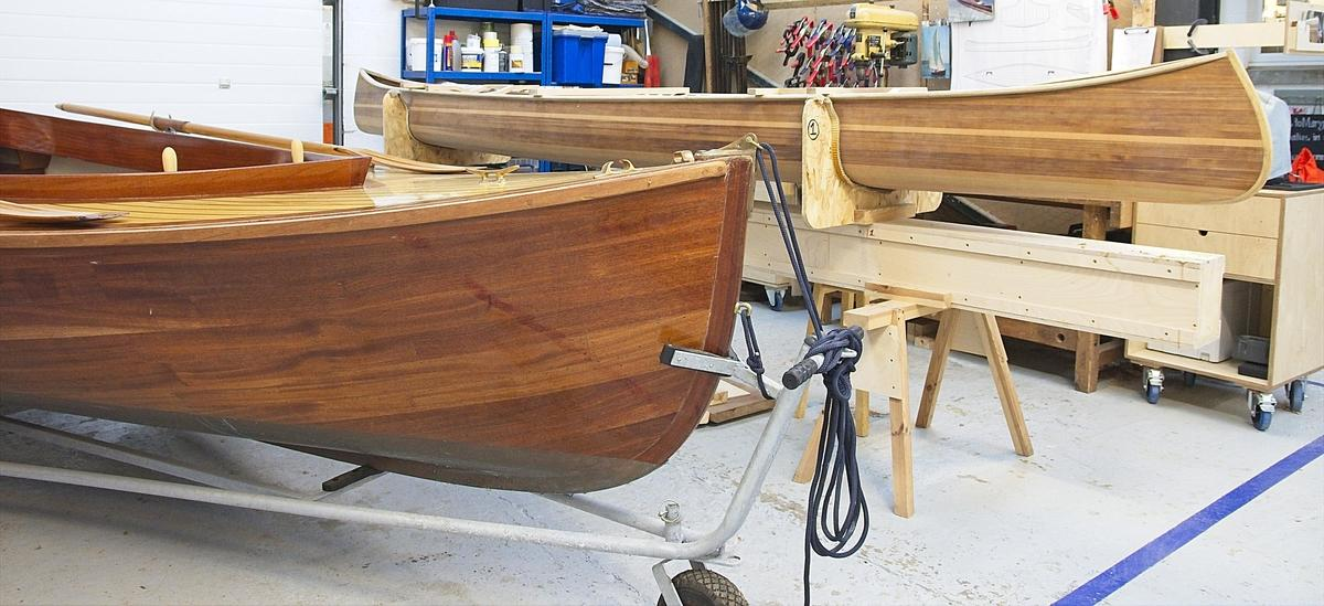 Boats in my workshop
