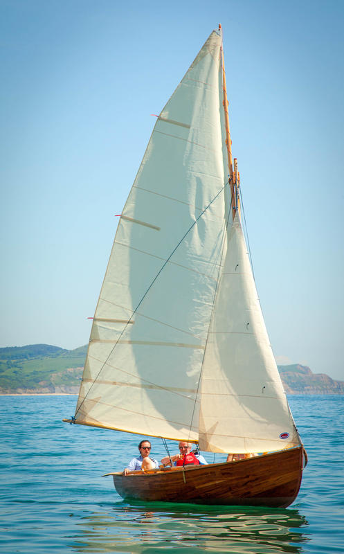 Jessie - a cold moulded day sailer