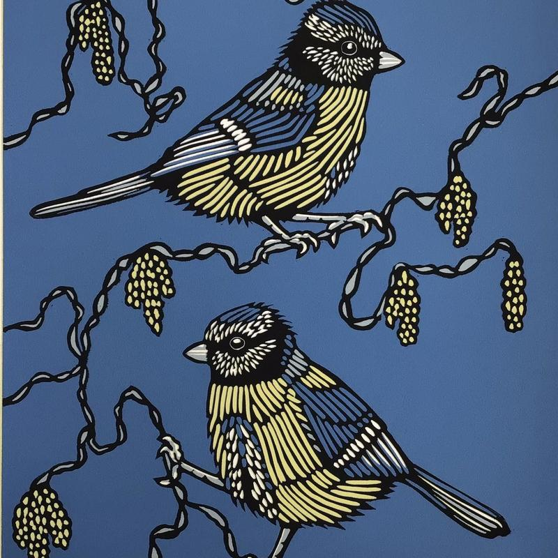 Out of the blue,  Linocut £55
