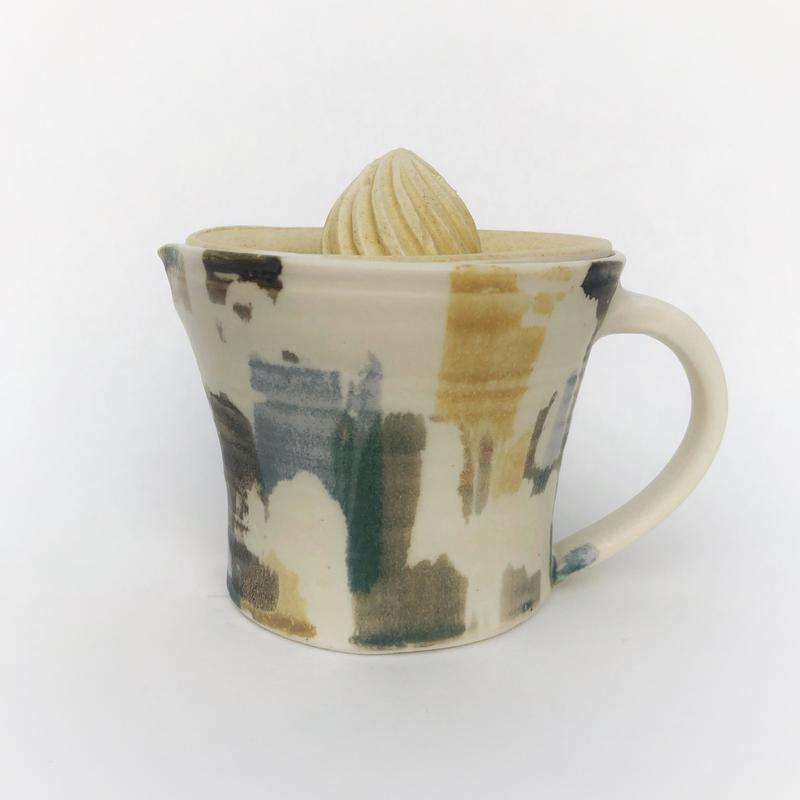 lemon squeezer -  I have a range of porcelain tableware in this design