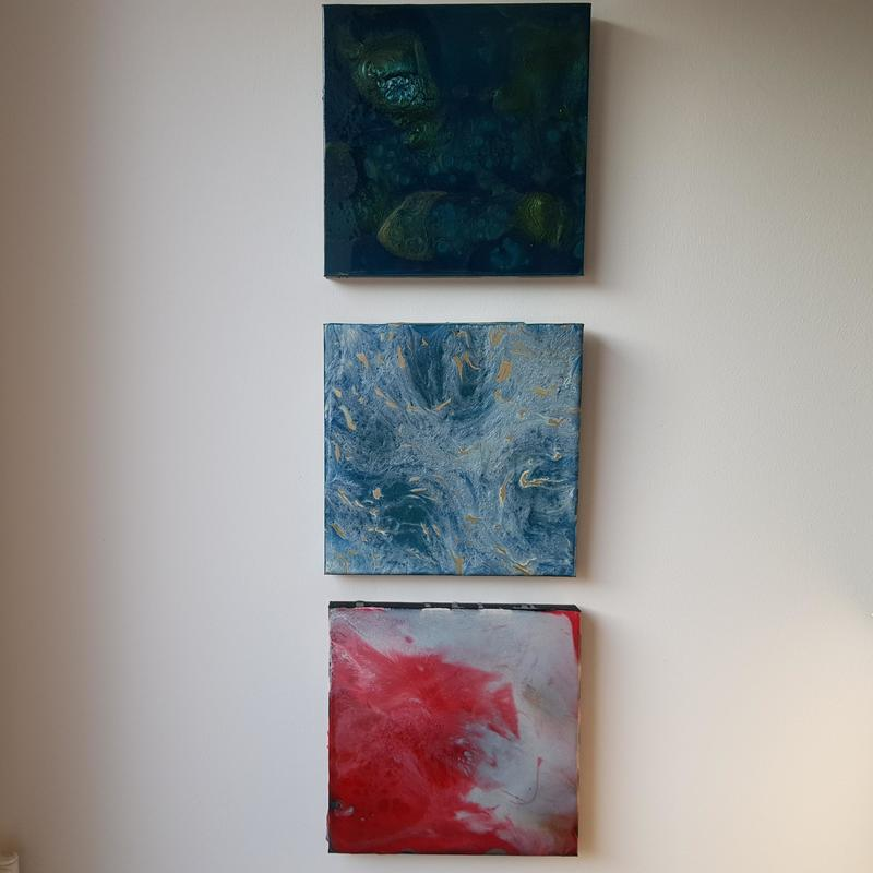 Collection of canvases