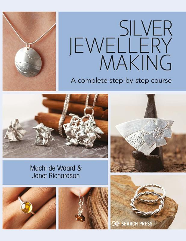co-author of Silver Jewellery Making, just published by Search Press.