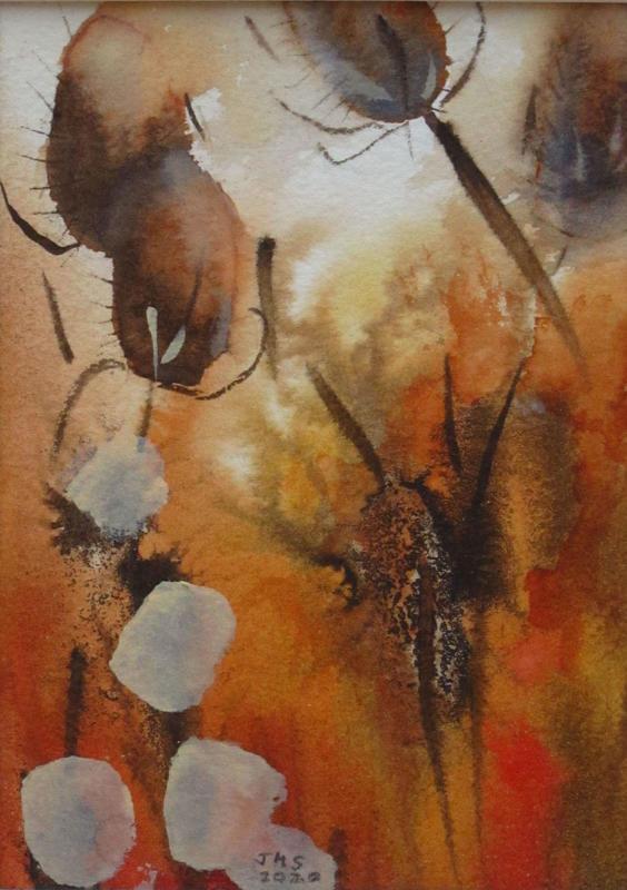 Autumn 1. W'colour & ink,  31x26.  £xx