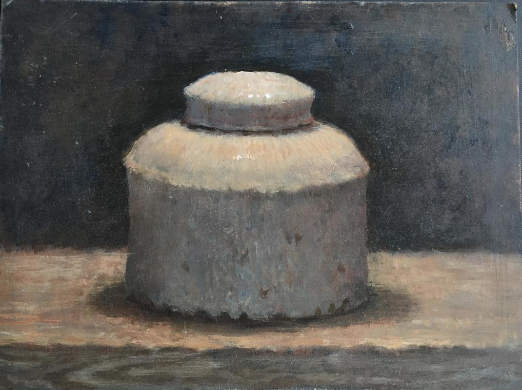 Pot on a Shelf