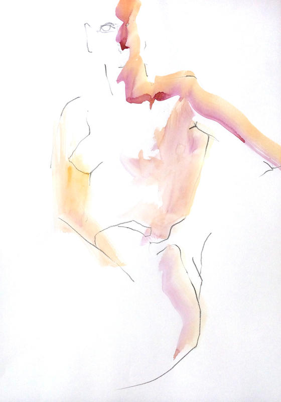 Barely There. A2 on paper.