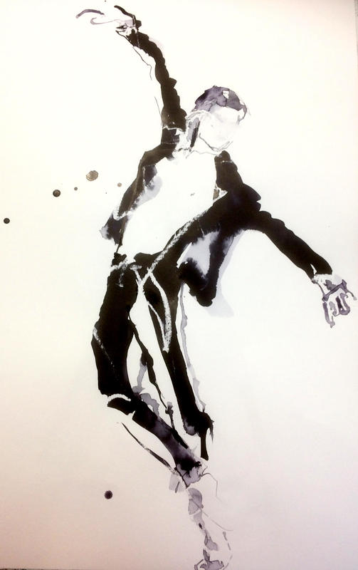 The Black Jacket. A2 on paper.