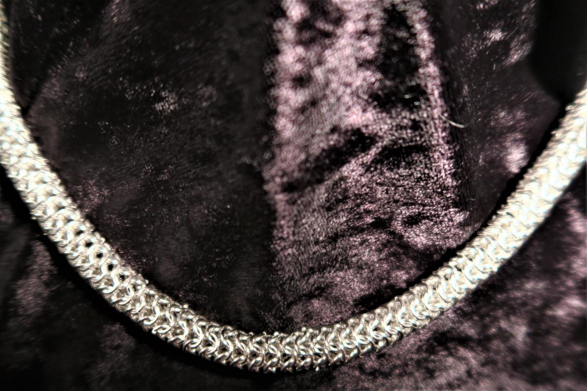 European chain mail necklace - £250