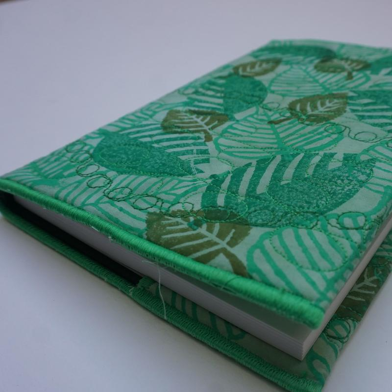 'Green Leaves' Sketch Book Cover and Sketch Book