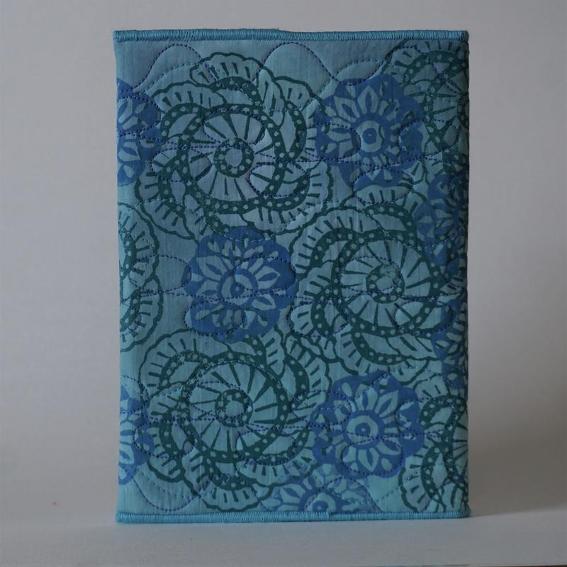 'Peacock Flowers' Sketch Book Cover and Sketch Book