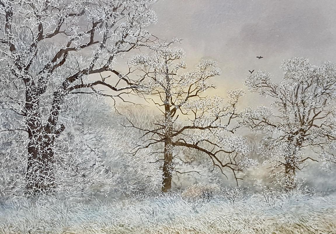 First Snow, Eynsham £300