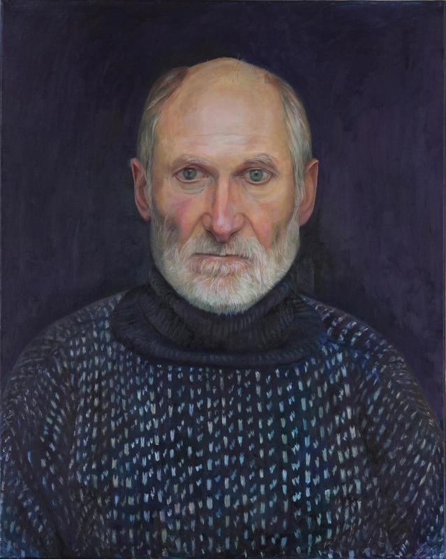 Portrait of Ian. Oil painting