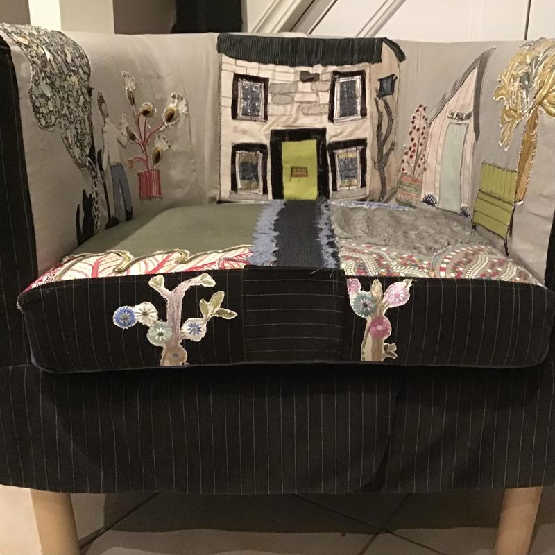 My story chair. Commissions taken.