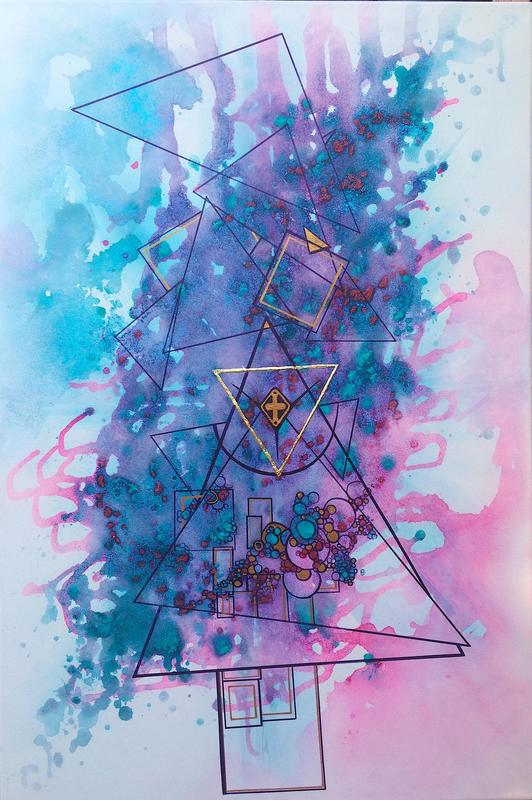 Sacred Creation - elements of geometry, love and symbols in verbal expression