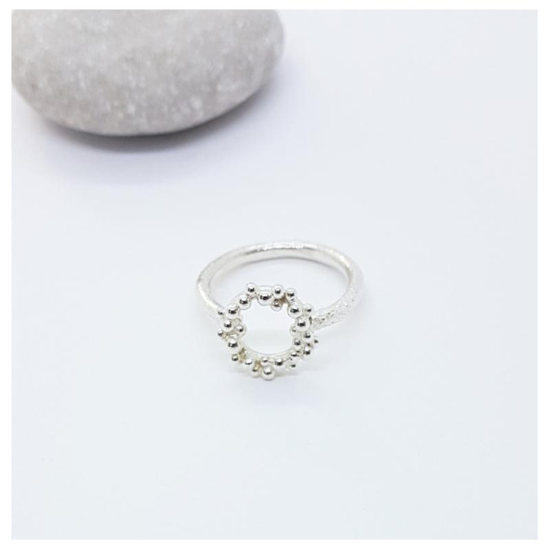 Silver Foam Ring