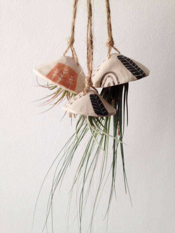 Ceramic Air Plant Holders
