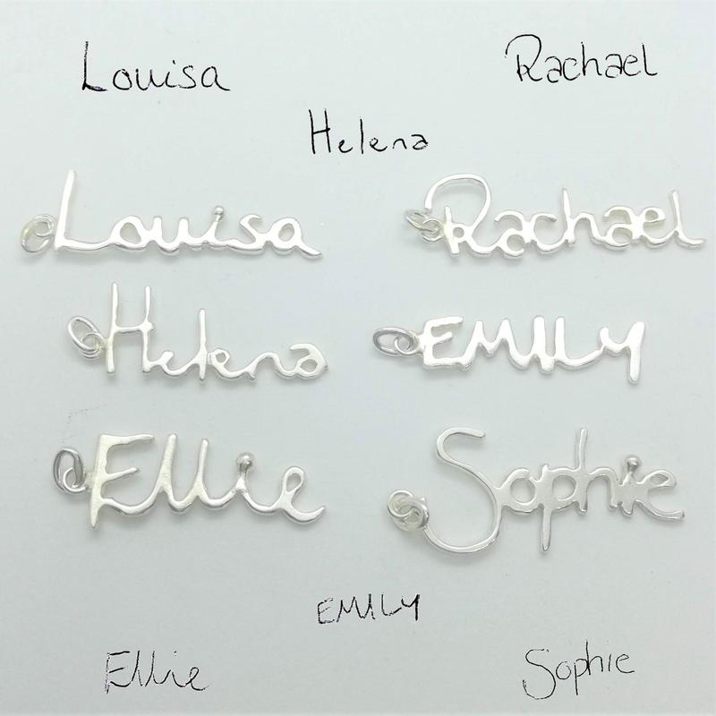 Personalised Handwriting Pendants