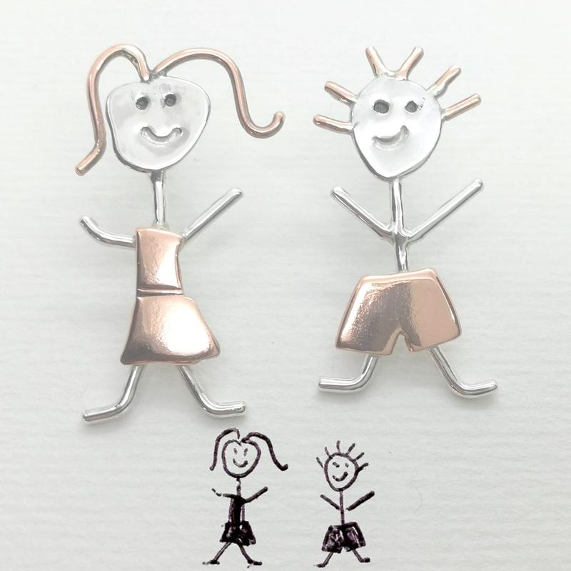 SticKidz - Jewellery created from children's drawings