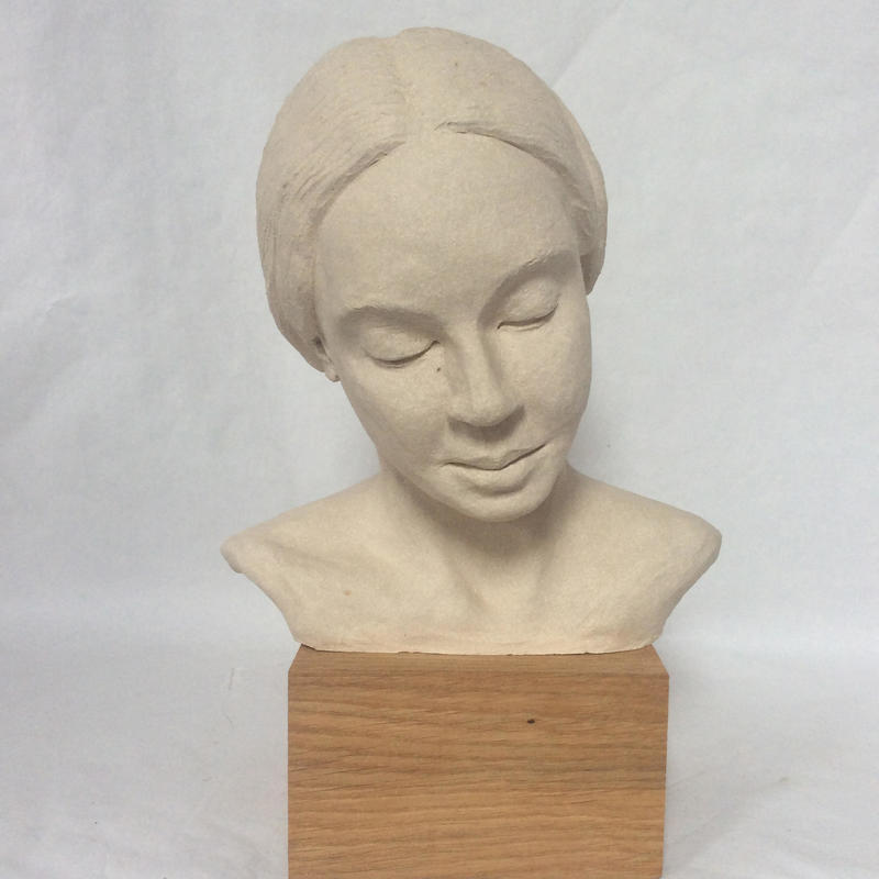 Madonna - clay fired to stoneware