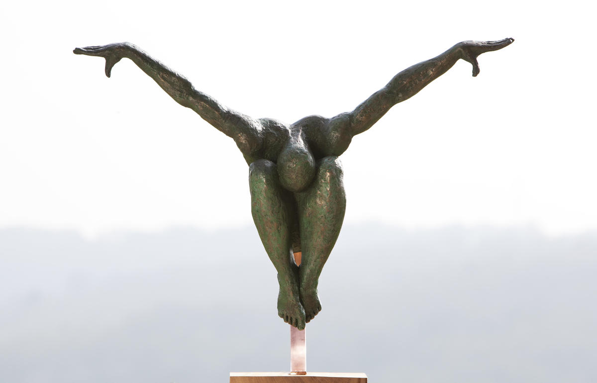 To Truly Soar, one must first Unfurl. Available in lifesize and coffee table size