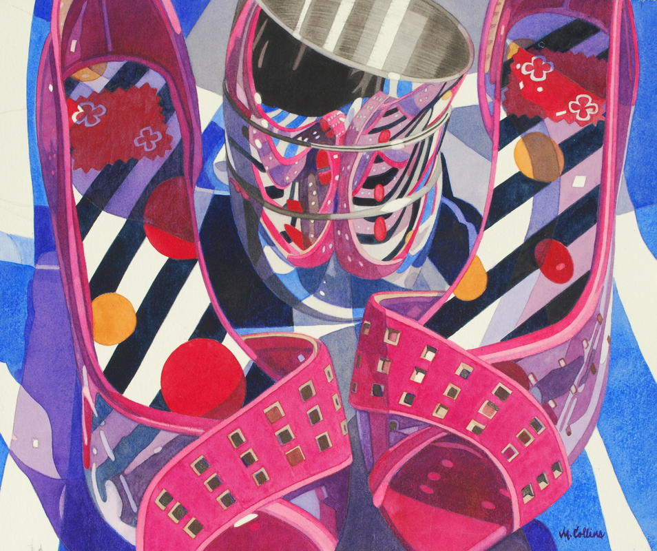 Stacked Reflections 59 x73 cm  £1150