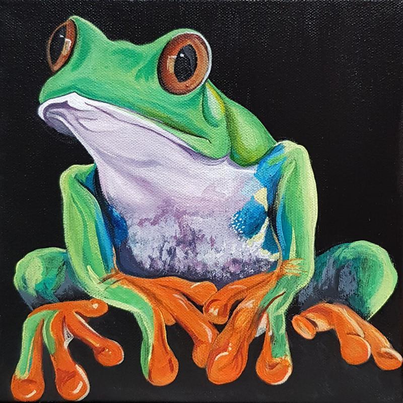 Percy Tree frog 20x20cm