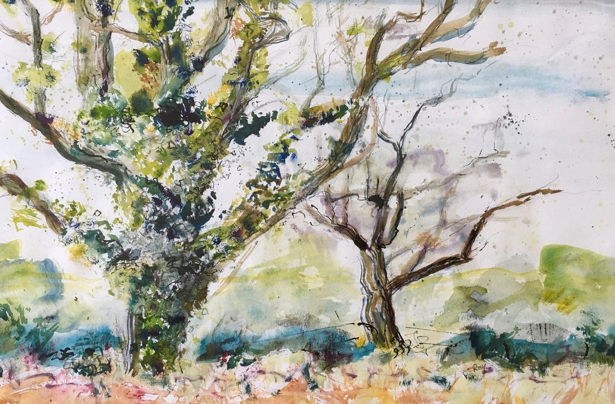 Rosy Burke - 'The Young Oaks, Horley'